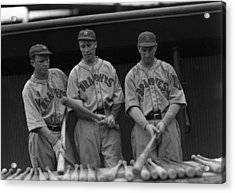 Boston Braves Bats Acrylic Print