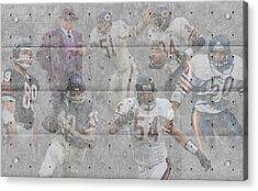 Chicago Bears Legends Acrylic Print