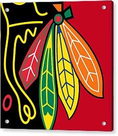 Chicago Blackhawks 2 Acrylic Print