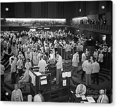 Chicago Board Of Trade 1957 Acrylic Print