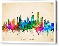 Chicago Cityscape Acrylic Print