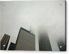 Chicago Cloud Atlas Acrylic Print by Joanna Madloch