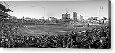 Chicago Cubs 5 Minutes Till Game Time Acrylic Print by Thomas Woolworth