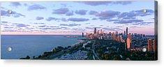 Chicago, Diversey Harbor Lincoln Park Acrylic Print