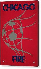 Chicago Fire Goal Acrylic Print