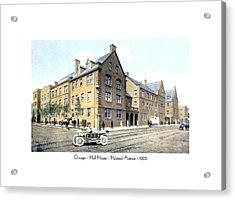 Chicago Illinois - Hull House - Halstead Avenue - 1906 Acrylic Print