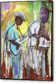 Acrylic Print featuring the painting Chicago Jam by Keith Thue
