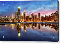 Chicago Acrylic Print by Joe Daniel Price