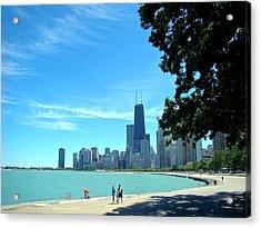 Chicago Lake Front Acrylic Print