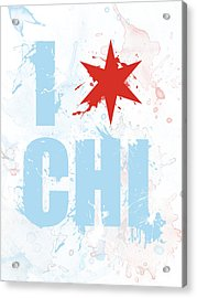 Chicago Love Too Acrylic Print
