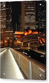 Chicago Millenium Park Acrylic Print