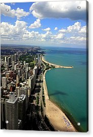 Chicago On The Lake Acrylic Print