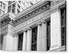 Chicago Public Library Acrylic Print