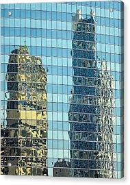 Chicago Reflections Acrylic Print
