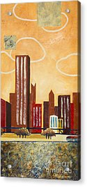 Chicago River I Acrylic Print