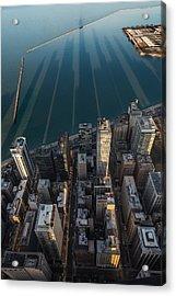 Chicago Shadows Acrylic Print by Steve Gadomski