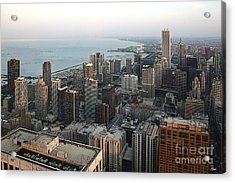 Chicago Shore Acrylic Print by Bill Quick