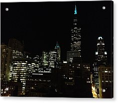 Acrylic Print featuring the photograph Chicago Skyline by Alan Lakin