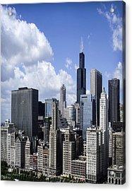 Chicago Skyline From Randolph Acrylic Print