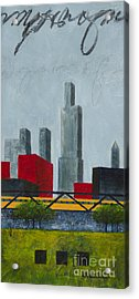 Chicago Skyline I Acrylic Print