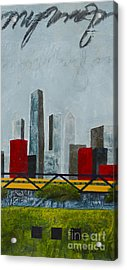 Chicago Skyline II Acrylic Print