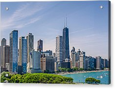 Chicago Skyline North View Acrylic Print