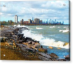 Chicago South Lakefront Acrylic Print