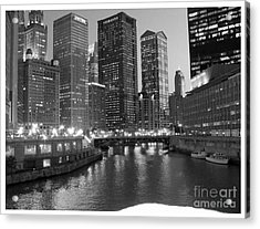 Chicago Sparkle Acrylic Print by Jesse Forrister