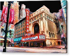 Chicago Theater - 23 Acrylic Print