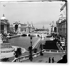 Chicago Worlds Columbian Exposition 1893 Acrylic Print by Historic Photos