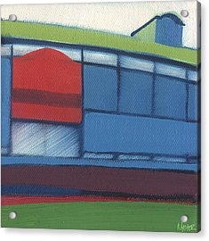 Chicago Wrigley Field 95 Of 100 Acrylic Print by W Michael Meyer