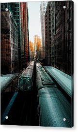 Chicago's Station Acrylic Print