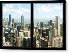 Acrylic Print featuring the photograph Chicago's Tallest by Doug Kreuger