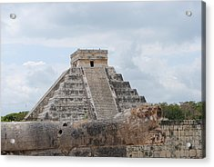 Acrylic Print featuring the photograph Chichen Itza by Robert  Moss