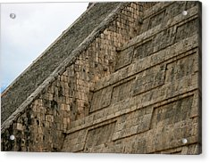 Acrylic Print featuring the photograph Chichen Itza by Silvia Bruno