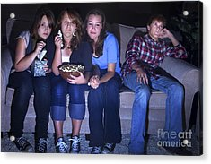 Chick Flick Acrylic Print by Diane Diederich