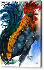 Chick Magnet Acrylic Print