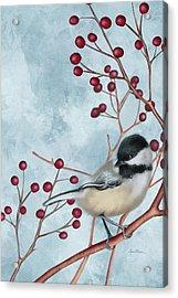 Chickadee I Acrylic Print