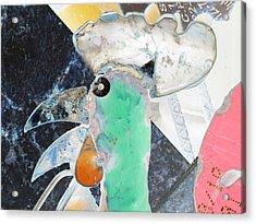 Chicken A La Picasso Acrylic Print
