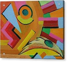 Chicken Cog Acrylic Print