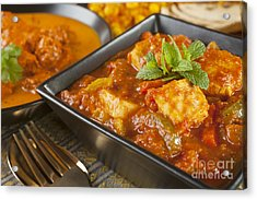 Chicken Jalfrezi Curry Acrylic Print by Colin and Linda McKie