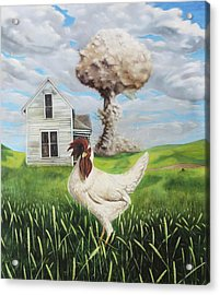 Chicken Little Did You Know Acrylic Print