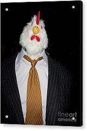 Chicken Man Acrylic Print