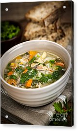 Chicken Soup Acrylic Print