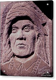 Chief-cochise-2 Acrylic Print by Gordon Punt