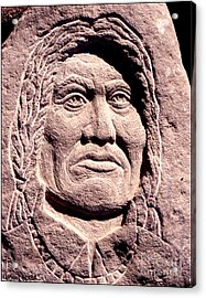 Chief-gall Acrylic Print by Gordon Punt