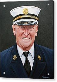 Chief Haber Acrylic Print by Paul Walsh