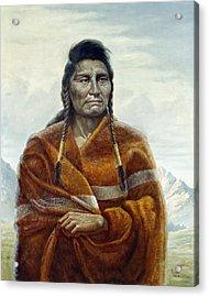 Chief Joseph Acrylic Print by Gregory Perillo