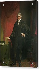 Chief Justice Marshall Acrylic Print by Chester Harding