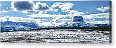 Chief Of The Mountains Acrylic Print